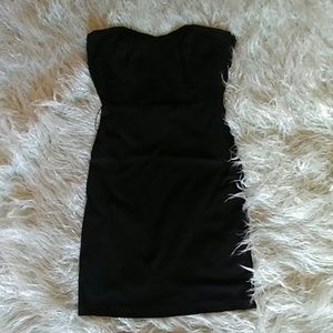 2b bebe Black Sleeveless Cocktail Dress